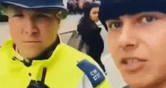 Žestoko trollanje policajca: Mladić ga je pitao gdje se nalazi banka, a onda je počeo trčati...