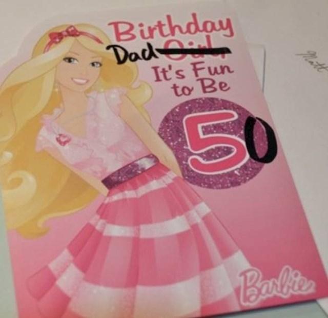 """""""Najbolji poklon koji sam dobio za svoj 50. rođendan!"""""""