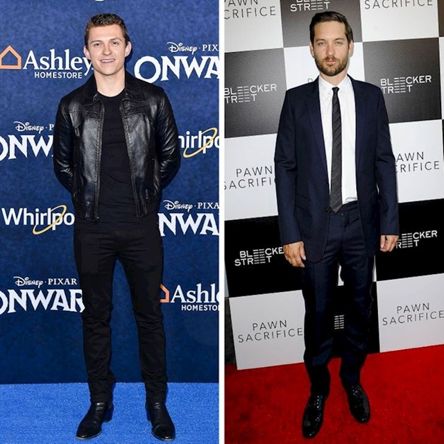 Tom Holland i Tobey Maguire - 173 cm