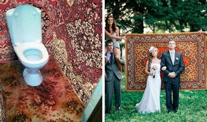 18 bizarnih fotografija koje dokazuju da Rusi stvarno jako vole svoje tepihe