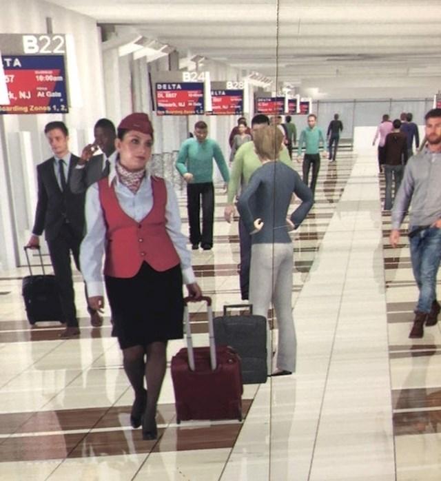 Ova aviokompanija se nije mogla odlučiti želi li u svojoj reklami likove iz videoigre ili prave ljude - pa su uzeli oboje.