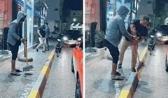 Bezobrazni vozač bacao je smeće iz auta, a onda ga je uznemirila savršena osveta
