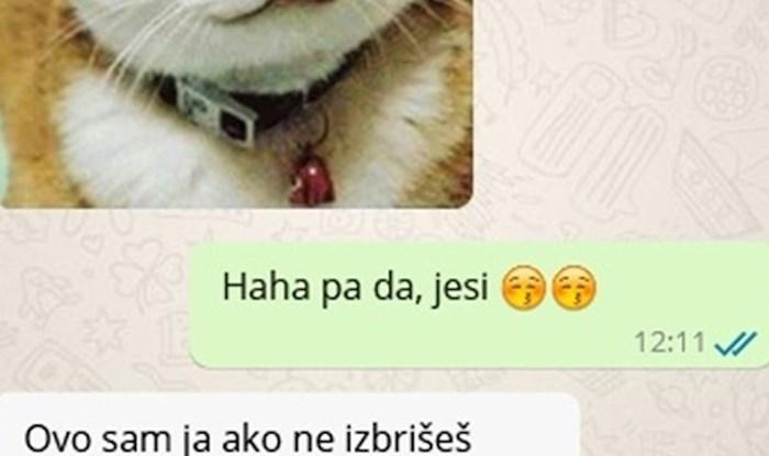 Žena mu je poslala slike mačaka pa mu pokazala što će se dogoditi ako je ne posluša