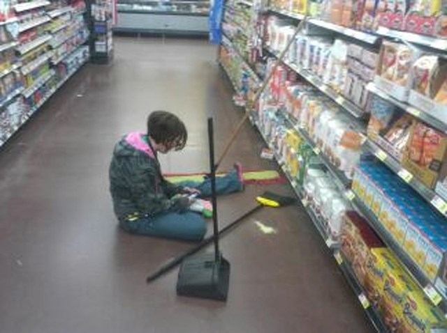 Bilo joj je dosta posla pa je odlučila uzeti pauzu.