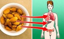 4 stvari koje će se dogoditi vašem tijelu ako počnete svaki dan jesti bademe