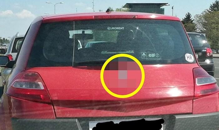 Vozač je promijenio ime modela auta te svojom idejom nasmijao ostale vozače