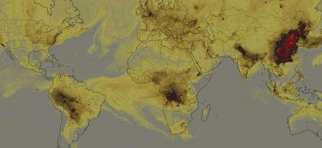 Emisija ugljikovog monoksida