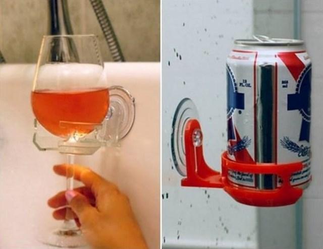 Držač čaša za kupaonicu