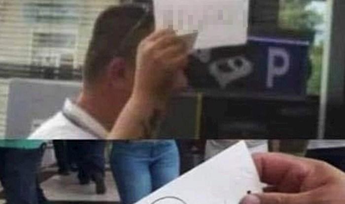 Taksist iz Splita nasmijao društvene mreže: Pogledajte kako je čekao gosta na zračnoj luci