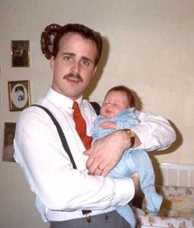 """""""Tata je na ovoj fotografiji imao samo 19 godina!"""""""