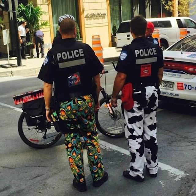 Kako su kanadski policajci štrajkali? Nisu nosili hlače iz službene uniforme.
