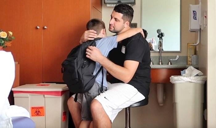 VIDEO Cijela obitelj se rasplakala kad se dječak u bolnici približio mami, razlog bi svakoga dirnuo