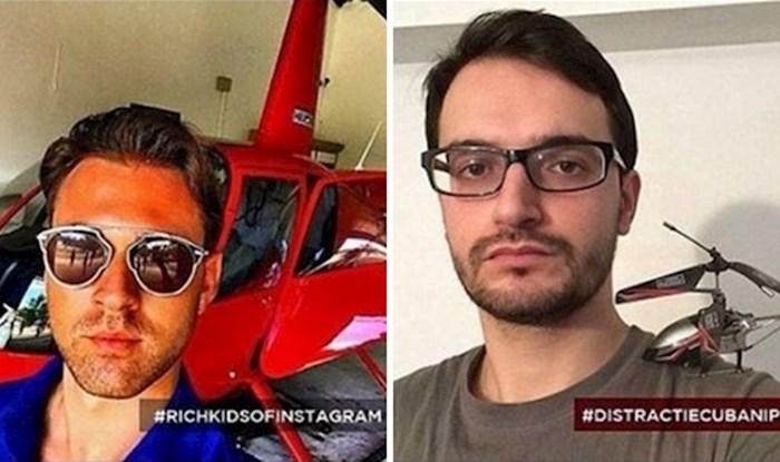 """""""Siromašna djeca Instagrama"""" narugala su se bogatoj djeci i objavila urnebesne fotke na profilima"""