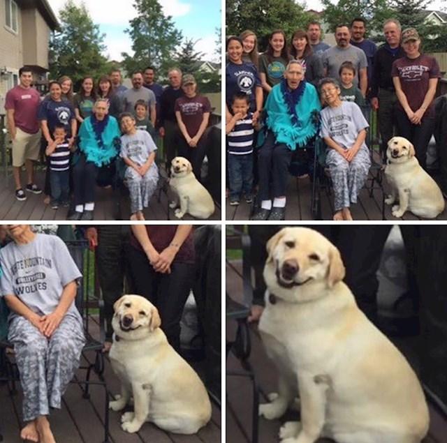"""""""Mislim da je svima jasno tko je najfotogeničniji na ovoj slici."""""""