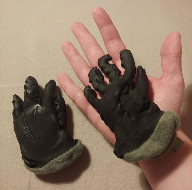 """""""Slučajno sam stavio kožne rukavice u perilicu."""""""