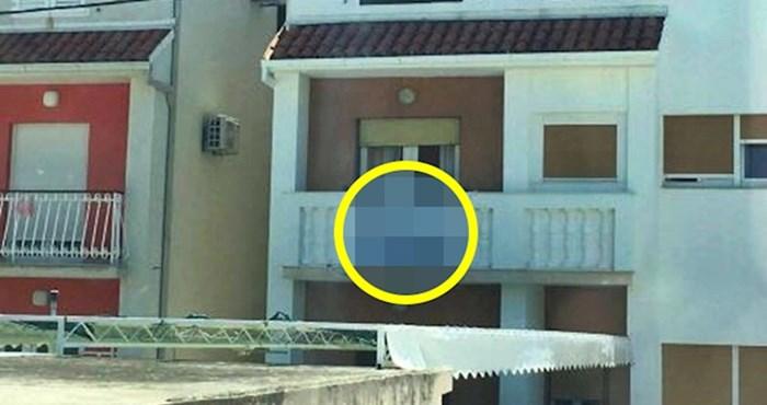 Apartmani su im očito bili popunjeni, no vlasnici ove kuće imali su drugi problem