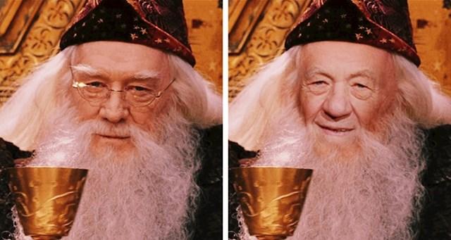 Ian McKellen kao Dumbledore