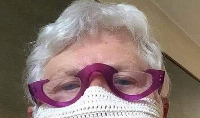 Ova baka ima jednu od najjačih zaštitnih maski koje smo vidjeli od početka pandemije