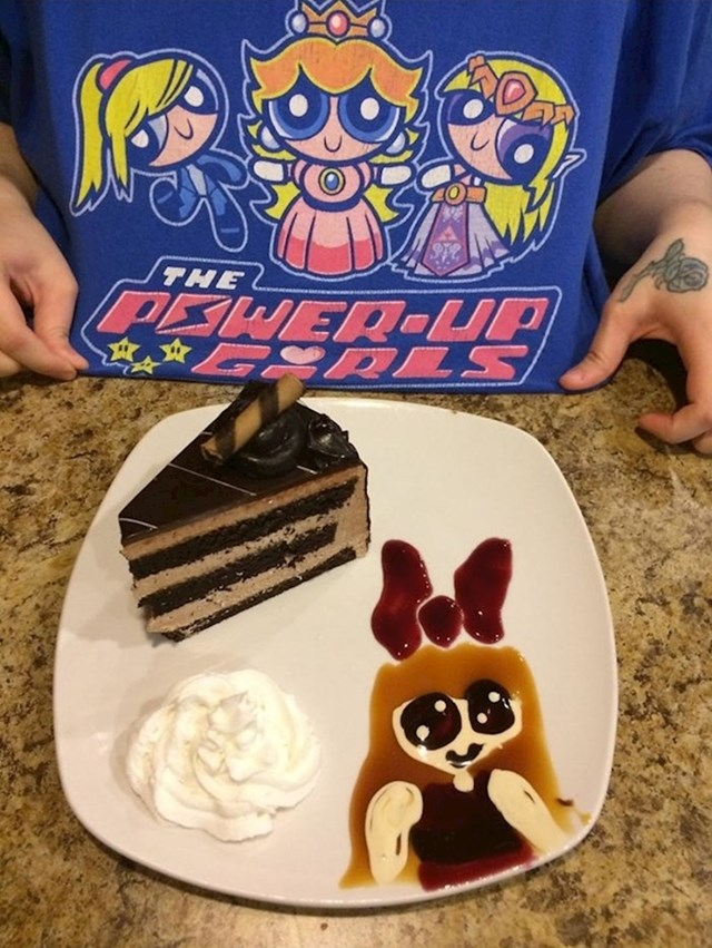 """""""Konobarica je primijetila da volim Powerpuff Girls pa mi je na tanjuru s tortom napravila i mali poklončić."""""""