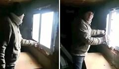 VIDEO Kad je vidio kako mu je ugradio prozor, čovjek je odmah zvao majstora da mu objasni par stvari