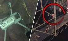 VIDEO Iz rijeke su izvadili pokvareni dron pa na njemu našli nesvakidašnju snimku