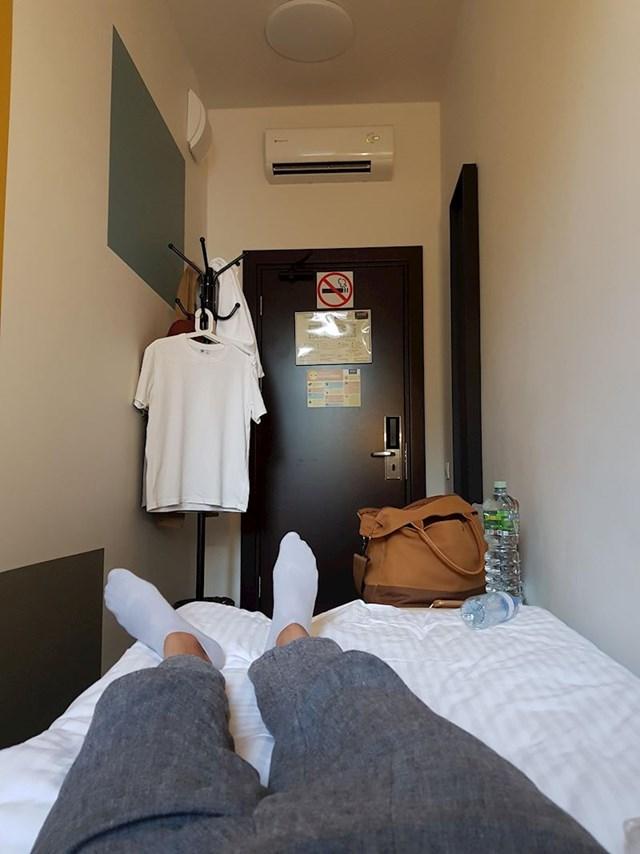 Pogledajte kako je izgledala njegova hotelska soba: