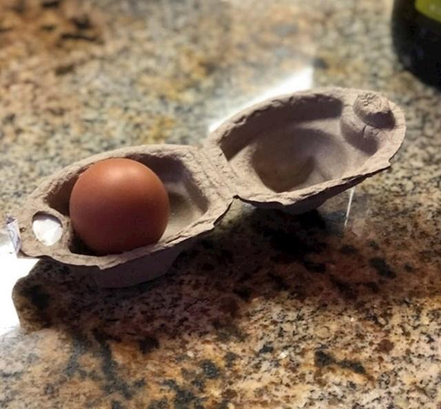Karton za samo jedno jaje