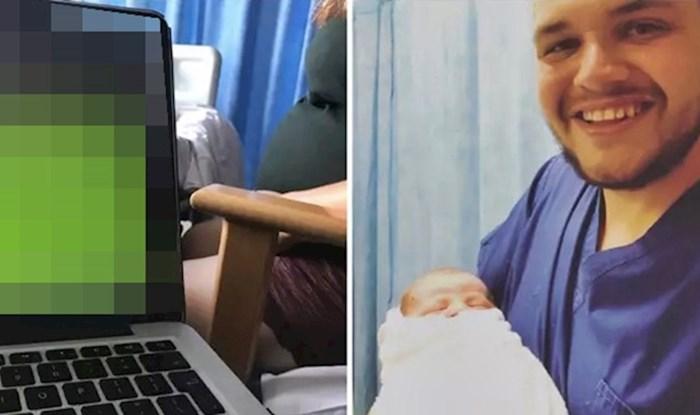 Dok mu je žena rađala bebu, ovaj lik je u bolnici radio nešto neshvatljivo