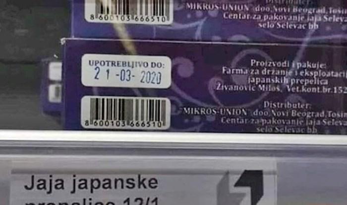Kupac je u supermarketu vidio natpis koji ga je nasmijao do suza
