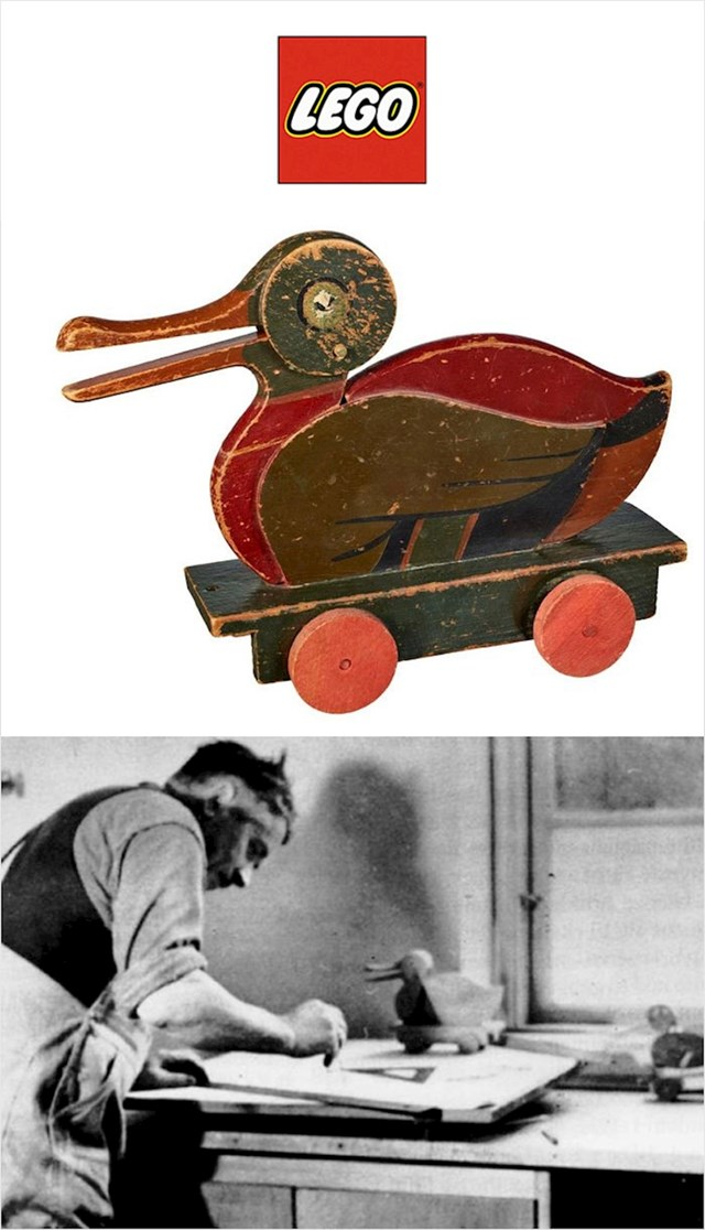 LEGO drvene igračke (1923.)