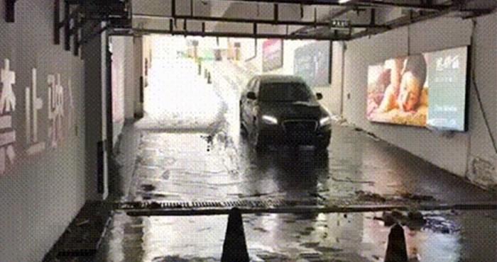 Čovjek je snimio bizaran prizor u podzemnoj garaži, pogledajte što se nekome dogodilo