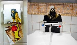 15 primjera maštovitog vandalizma slikanog u javnim zahodima