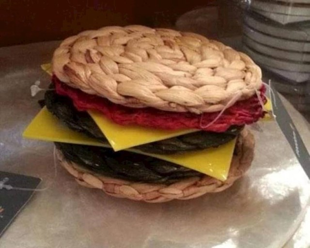 Ne, ovo nije cheeseburger.