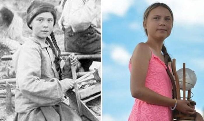 NOVA TEORIJA ZAVJERE Nakon što su vidjeli ovu fotku, ljudi misle da je Greta Thunberg došla iz budućnosti