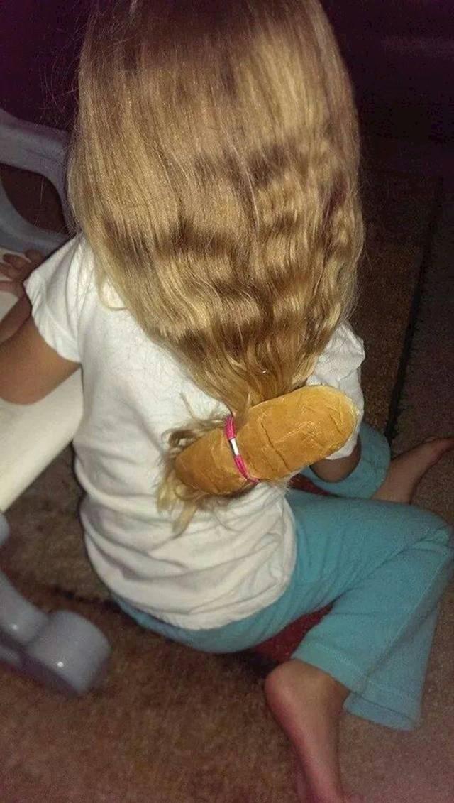 Tata je obećao da će joj napraviti frizuru. Evo što je dobila.