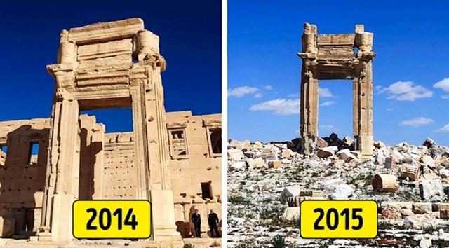 Drevni grad Palmira, Sirija