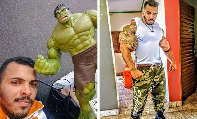 Hulk - Romario Dos Santos Alves