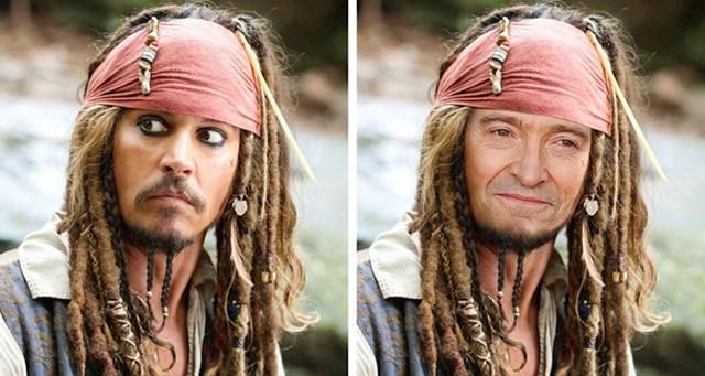 Hugh Jackman kao kapetan Jack Sparrow