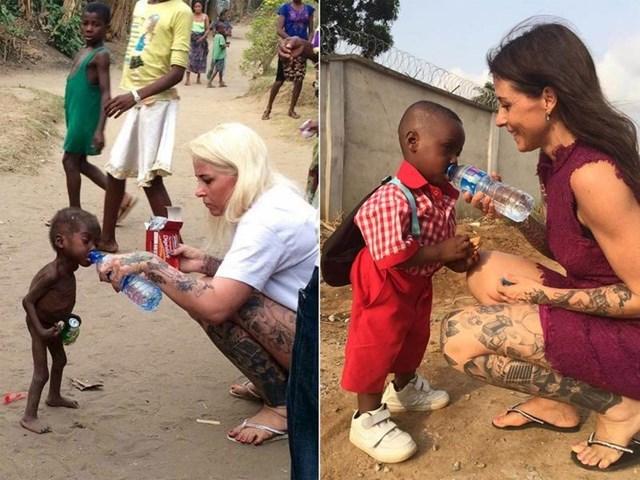 2016. godine je humanitarna radnica Anja Ringgren Loven pomogla gladnom dječačiću iz Afrike. Pobrinula se da ima bolju budućnost.