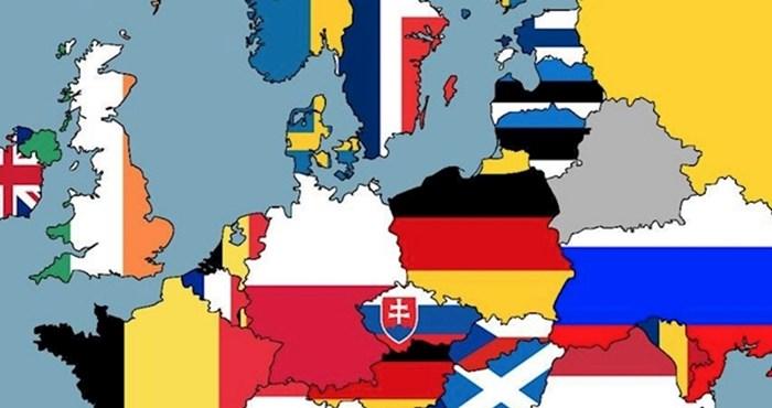 Ova karta pokazuje o kojim narodima Europljani najčešće smišljaju viceve