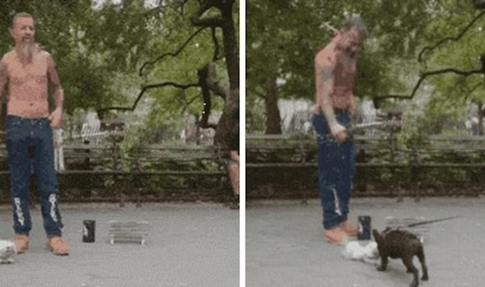 Ovaj majstor uspio je zbuniti čak i psa, pogledajte što je radio
