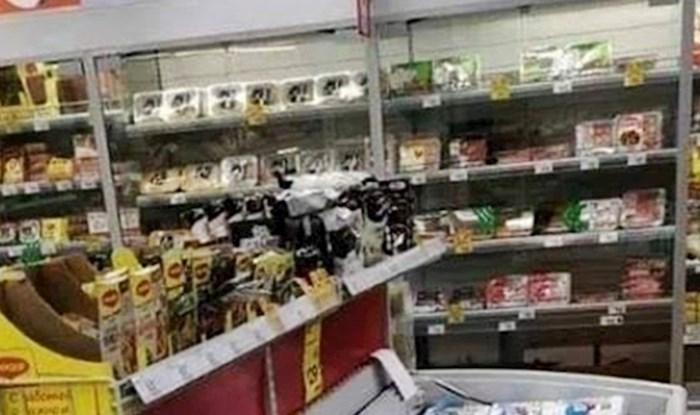 Kupci su u supermarketu ugledali neočekivan prizor i shvatili da svijet postaje sve čudniji