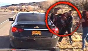 VIDEO Policajac je zaustavio roditelje i u posljednji tren spasio bebu koja se gušila