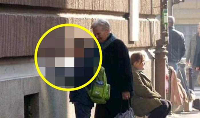 Ova baka je odlučila podržati svog unuka u baš svemu, pogledajte što je radio