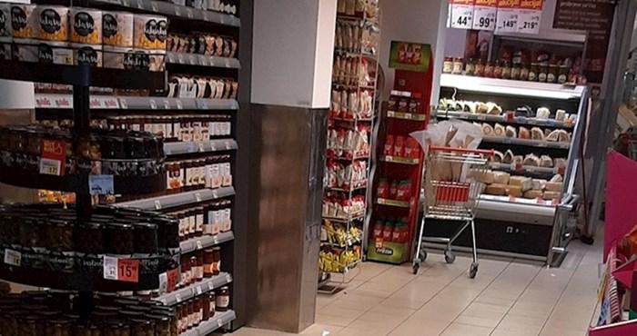 Kupca je u supermarketu iznenadio neočekivani gost, pogledajte što je uslikao