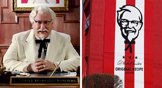 Zanimljiva činjenica za ljubitelje KFC-a: Colonel Sandersova mašna zapravo izgleda kao tijelo (ruke i noge) čovječuljka kojeg smo svi crtali kao djeca.