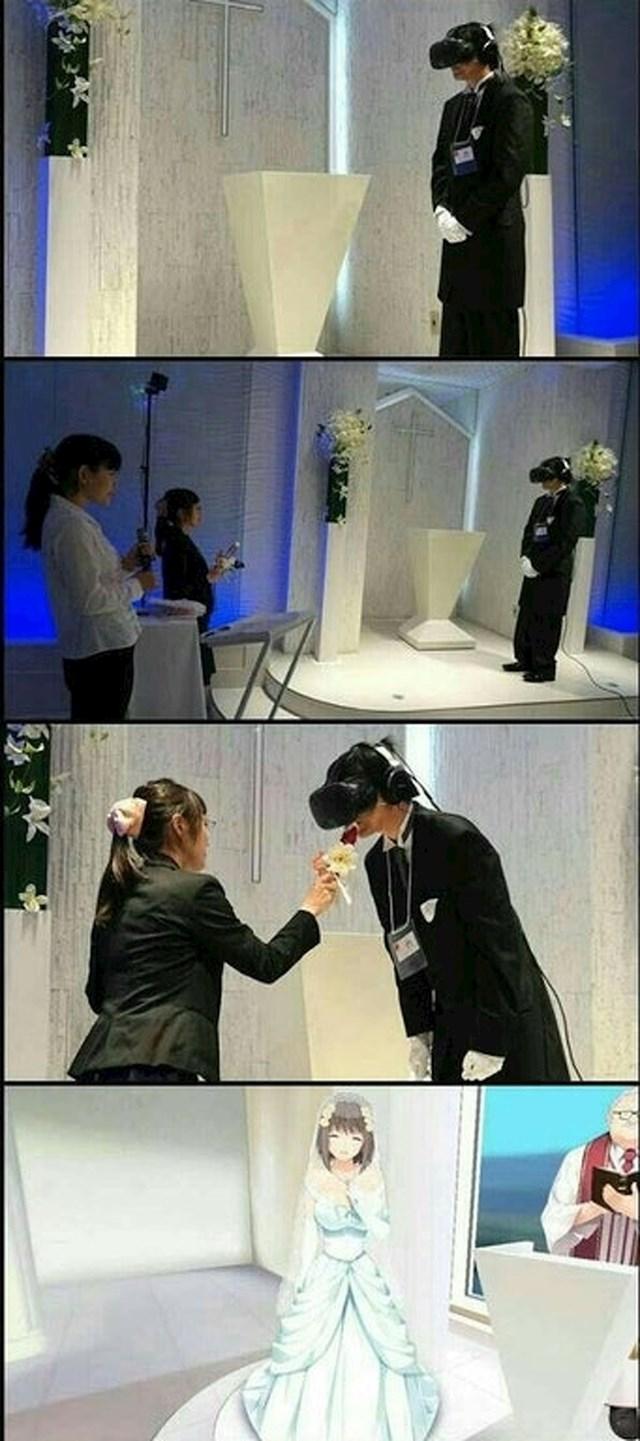 Ovo je sigurno jedno od najčudnijih vjenčanja koje ste ikad vidjeli.