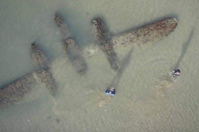 Na obali Walesa pronašli su stari borbeni zrakoplov P-38 iz Drugog svjetskog rata.