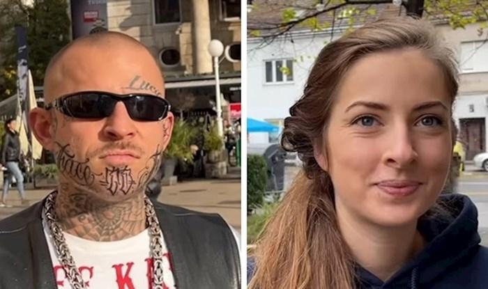 VIDEO Stranac je zaustavljao ljude u Zagrebu i pitao koju državu mrze, evo što su mu odgovorili