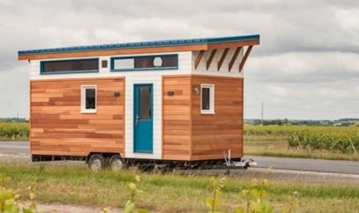 """U ovoj """"običnoj"""" maloj prikolici krije se pokretni dom kakav bi mnogi htjeli imati"""